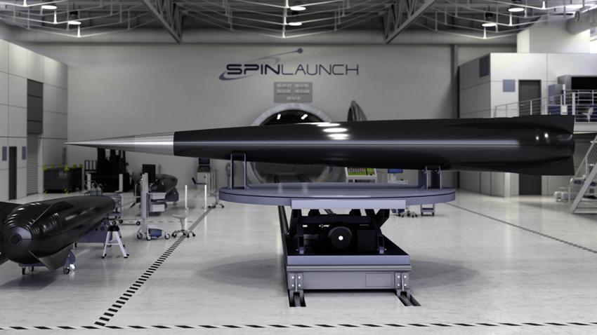 SpinLaunch Mancınık Uzay Roket