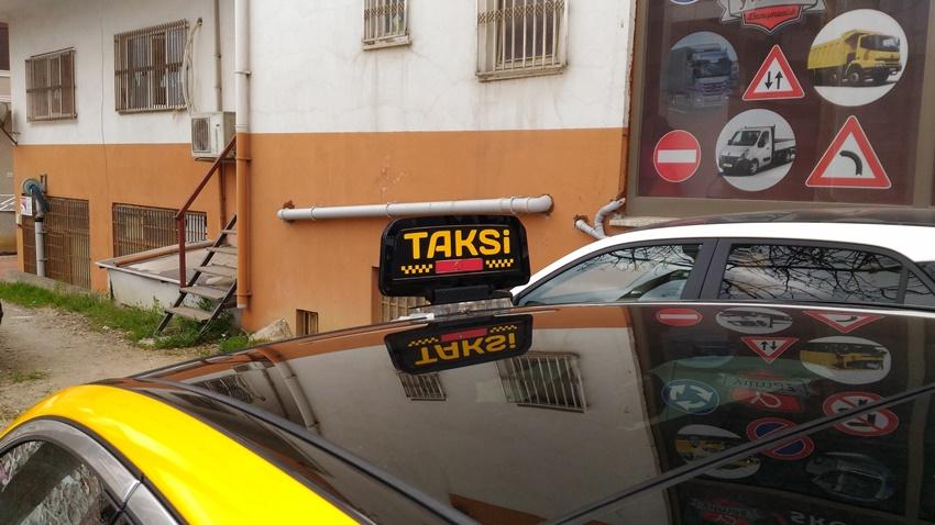 Taksi Lambası i-Taksi