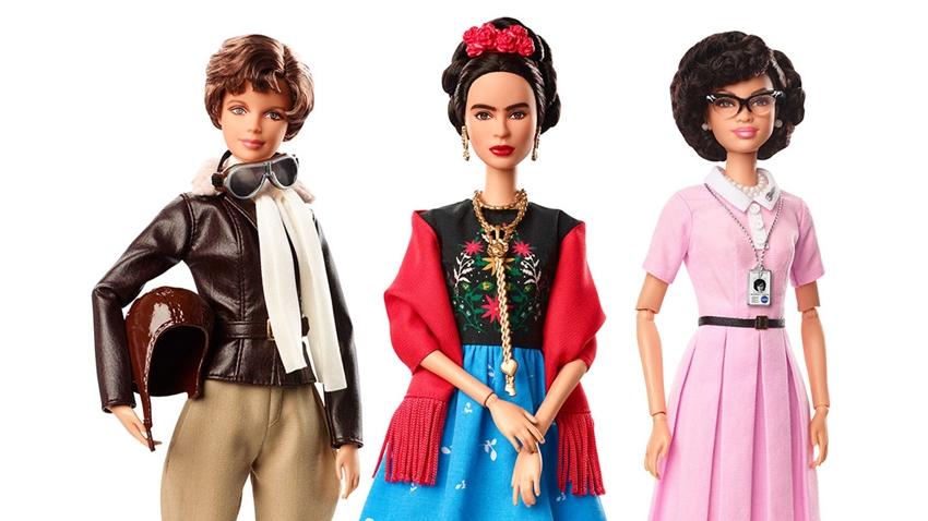 Dünyadaki Önemli Kadın Figürleri Barbie Oldu