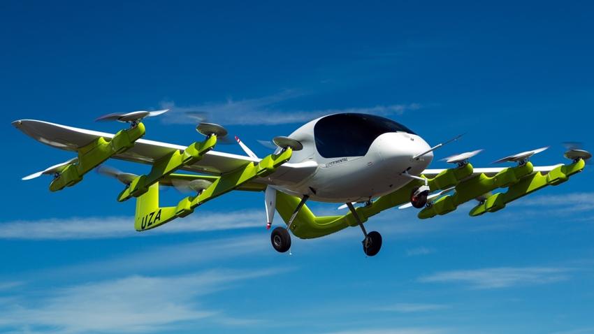 Larry Page'in Hava Taksisi Yeni Zelanda'da Uçuşlara Başlıyor
