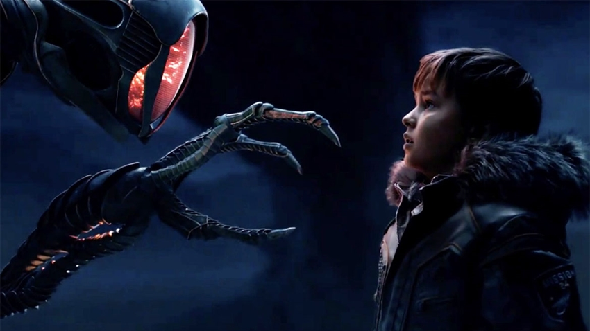 Netflix'in Yeni Bilim Kurgu Dizisi Lost in Space'ten Yeni Fragman