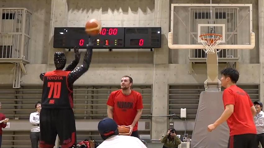 Toyota'nın Basketbol Oynayan Robotu ile Tanışın
