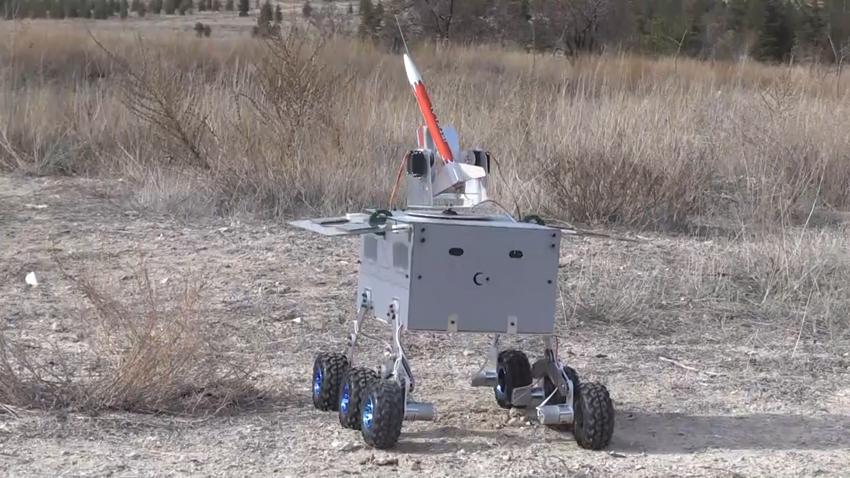 Üniversite Öğrencileri 'Hava Savunma Robotu' Geliştirdi