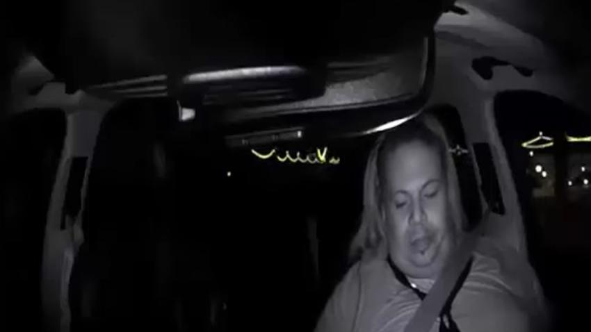 Yayaya Çarparak Öldüren Uber Aracının Kaza Anı Kamerada