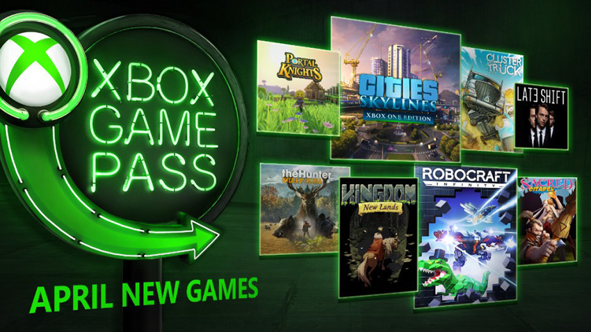 Xbox Game Pass'in Nisan 2018 Oyunları Açıklandı