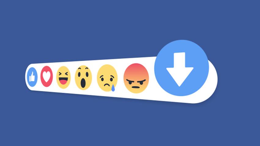 Facebook Eksileme Downvote