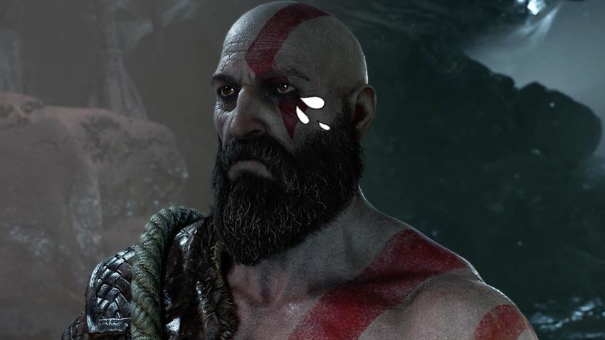 Kratos Ağlıyor