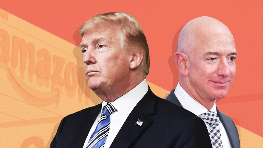 ABD Başkanı Trump'ın Amazon Nefreti Devam Ediyor