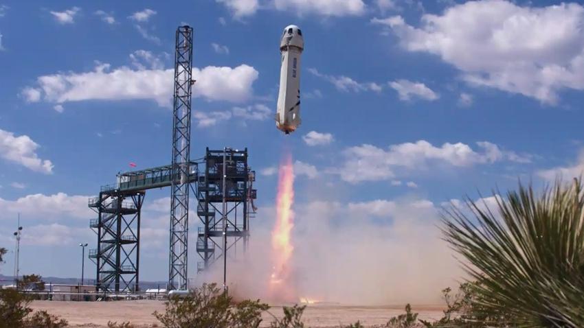 Blue Origin, Uzay Turizminde Yeni Bir Kapı Daha Araladı