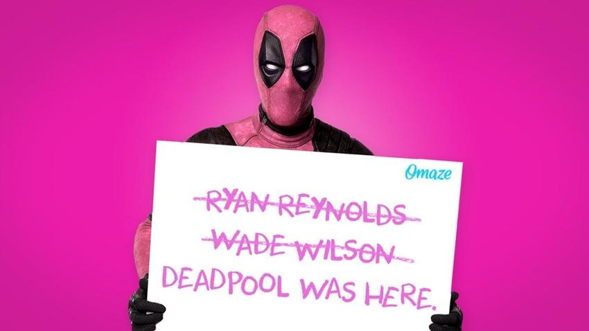 Deadpool, Pembe Kostümüyle Kanserle Savaşa Destek Oldu