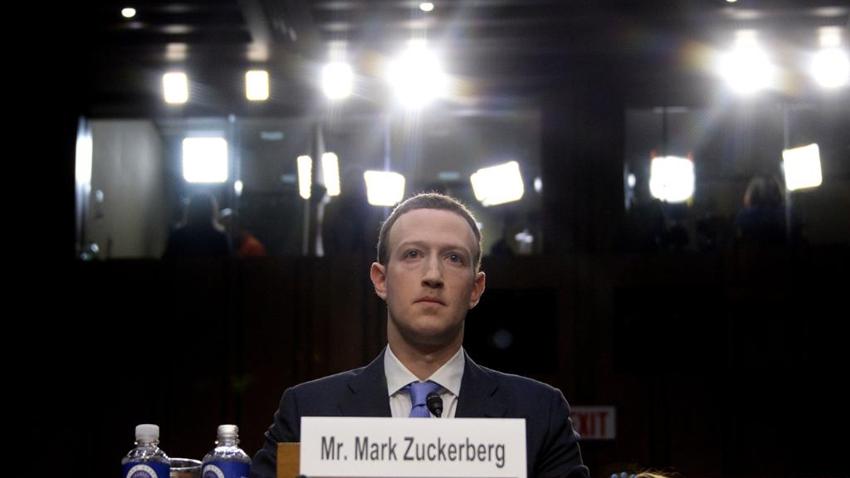 Facebook CEO'su Mark Zuckerberg, ABD Senatosu'nda İfade Verdi