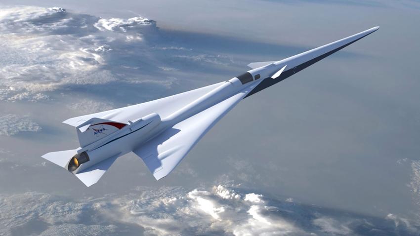 Lockeed Martin, NASA'ya 'Sessiz' Süpersonik Uçak Yapacak