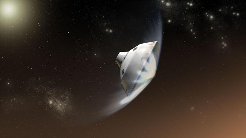 NASA'nın 2020 Mars Görevinde Kullanacağı Isı Kalkanı Çatladı