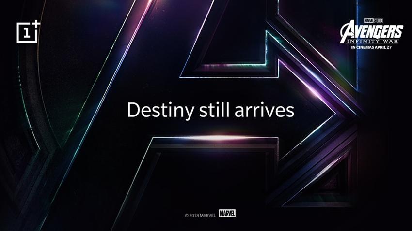 OnePlus 6 Avengers Infinity War Sürümüyle Tanışın