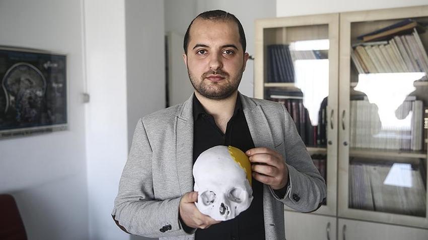 Türkiye'de İlk Defa 3D Yazıcı ile Kafatası Üretildi