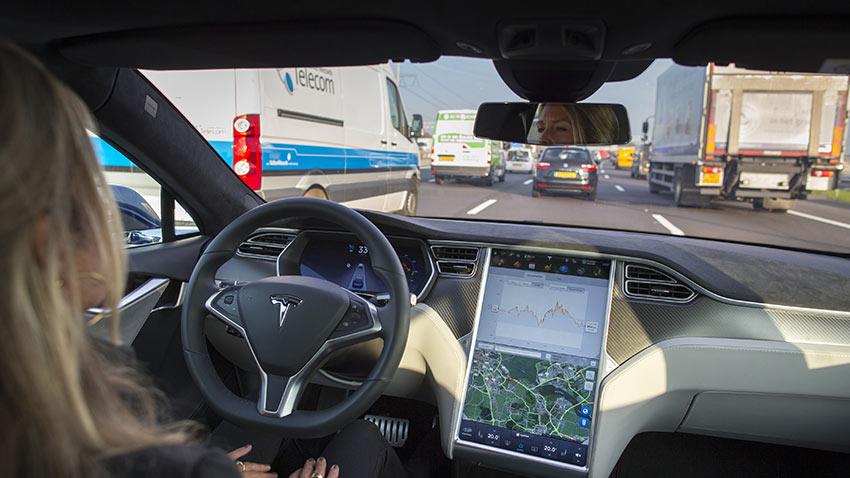 Tesla Laguna Beach Kazası 1