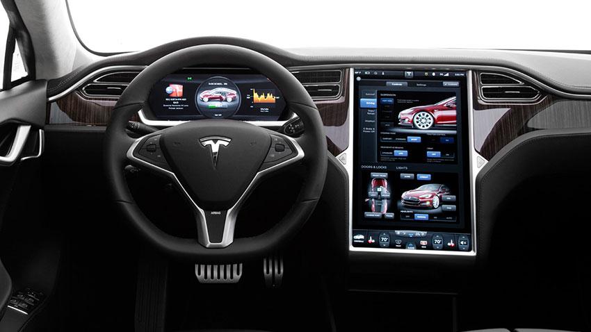Tesla Model S İç Mekanı