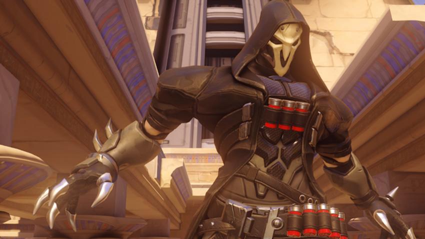 Overwatch Reaper stop motion