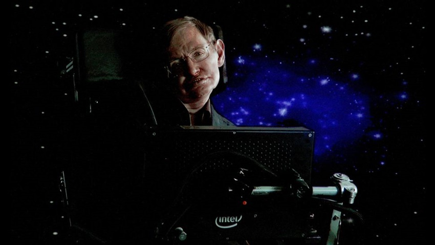 Stephen Hawking Hologram
