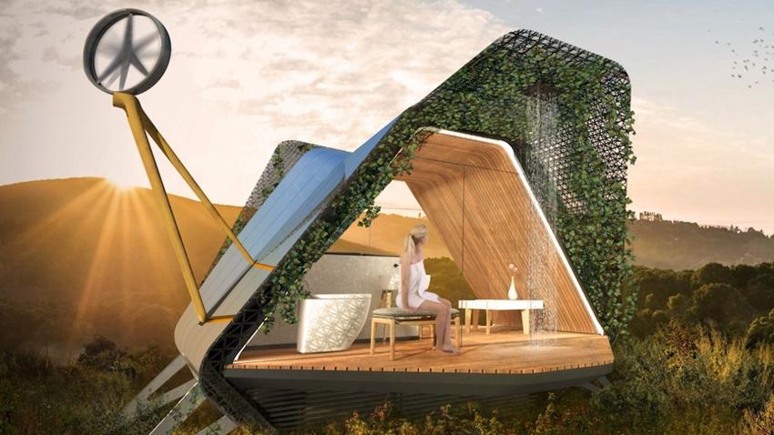 3D Yazıcıyla Yapılan Teknoloji Köyü Zenginlerin Yeni Adresi Olacak
