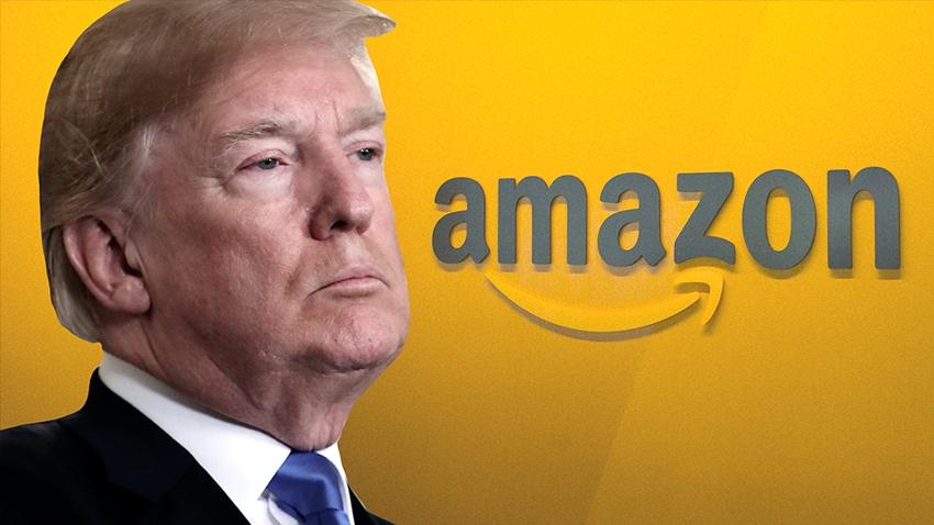 ABD Başkanı Donald Trump, Amazon'u Sıkıştırmaya Devam Ediyor