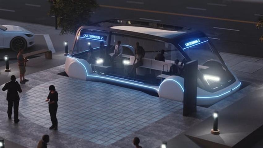 Elon Musk'ın Ultra Hızlı Hyperloop'una Binmek Sadece 1 Dolar