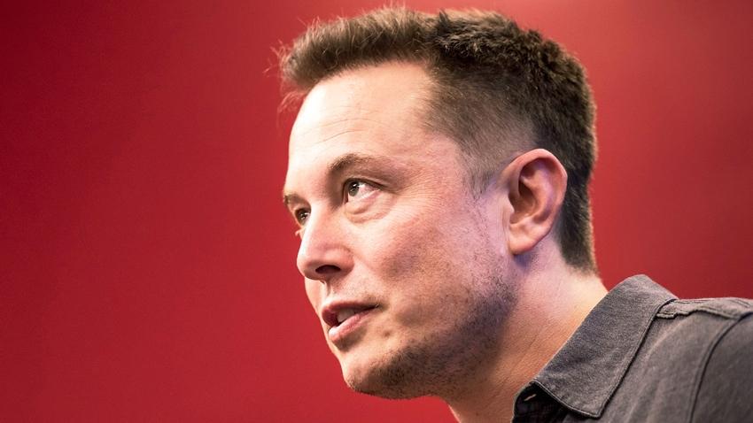 Elon Musk Tesla Model Y