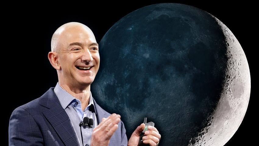 Jeff Bezos, Ay Projesi Hakkındaki Detayları Paylaştı