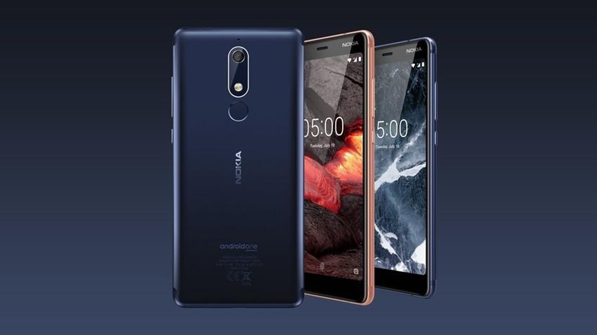 Nokia 5.1, Nokia 3.1 ve Nokia 2.1 Özellikleri ve Fiyatı