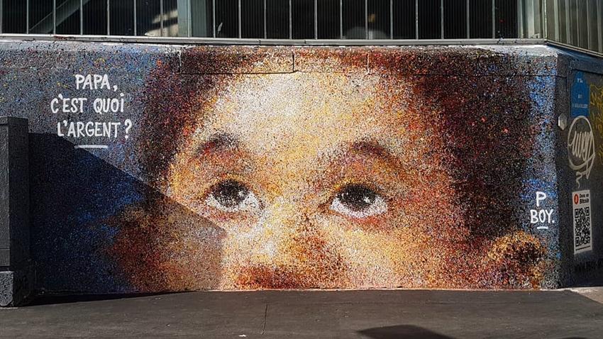 Sokak Sanatçısı, Grafitilerine Eklediği QR Kod ile Bitcoin Kazandı