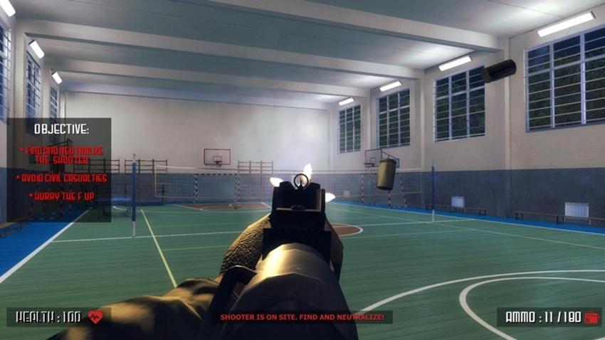 Steam, Okul Katliamını Simüle Eden Active Shooter Oyununu Kaldırdı