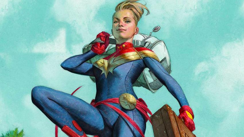 Captain Marvel Bir Türk'e Emanet