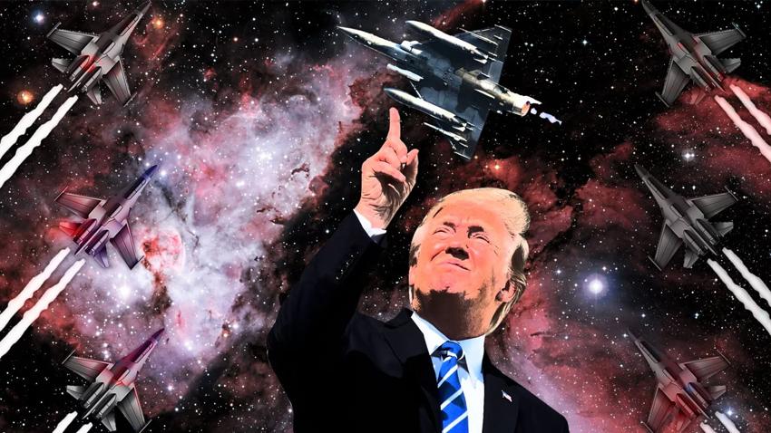 Uzay Hava gücü ve Trump