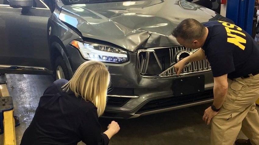 Uber Kazası Güvenlik Sürücüsü