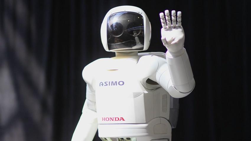 Asimo robot honda