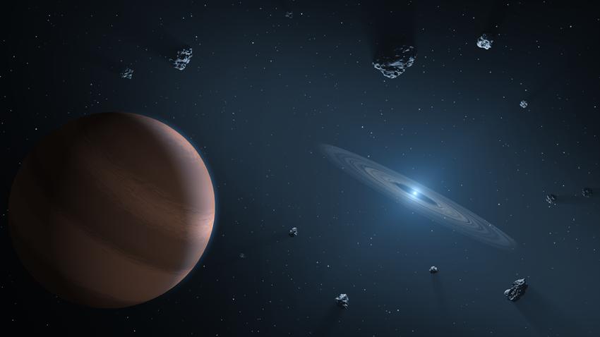 gezegen molekül keşif