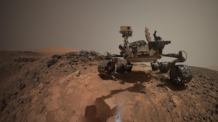 NASA Mars Organik MAdde