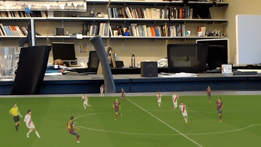 Artırılmış Gerçeklik Sayesinde Futbol Maçları Masanızda Oynanacak