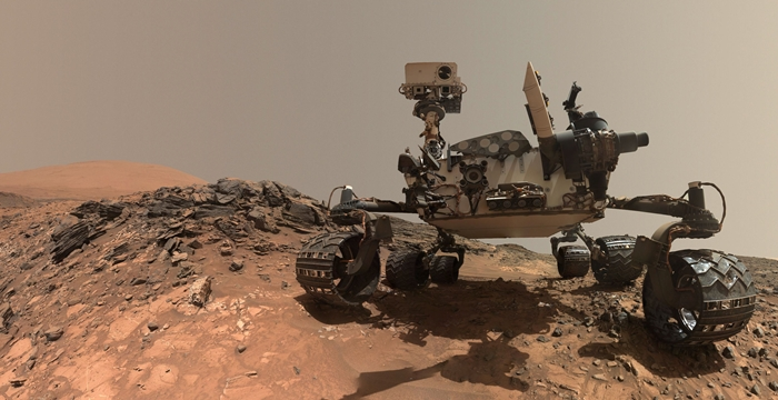 Curiosity keşif aracı NASA