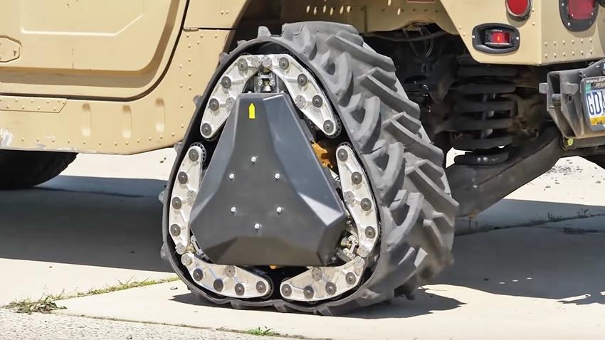 DARPA, 2 Saniyede Üçgen Şeklini Alabilen Tekerlek Geliştirdi