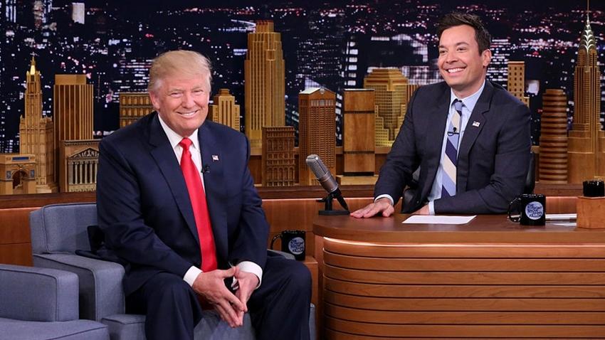 Donald Trump Stand up'çı Jimmy Fallon'a Twitter'dan Ateş Püskürdü