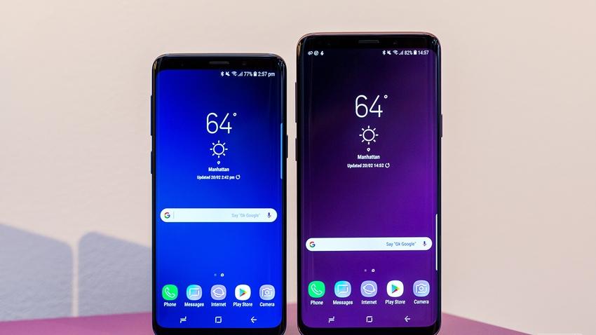 Galaxy S9 ve S9 + Nisan Ayının En Çok Satan Telefonları Oldu