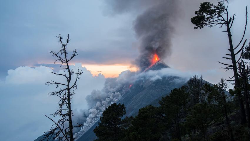 Guatemala'da Fuego Yanardağı Patladı: 25 Ölü, 300 Yaralı
