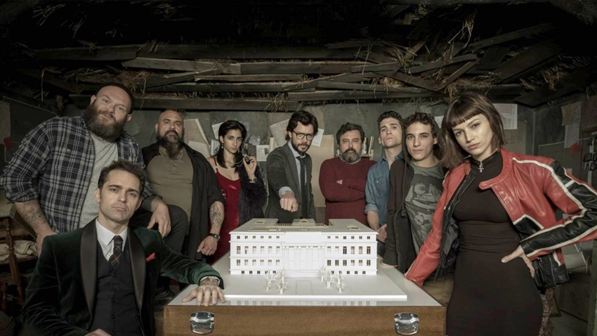 La Casa de Papel'in Jenerik Müziğinde Türk DJ'in İmzası Olacak