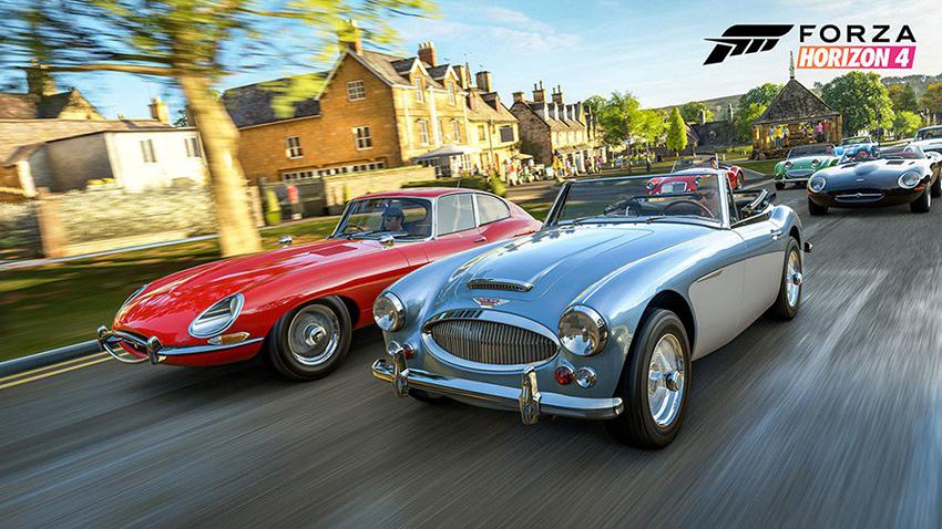 Forza Horizon 4 Gerçek Hayat ve Oyun İçi Grafik Karşılaştırması