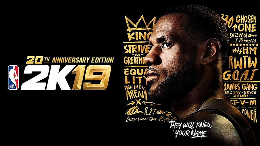 NBA 2K19'un Kapak Yıldızı LeBron James Oldu!