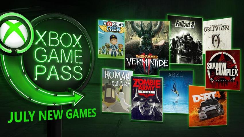 Xbox Game Pass Temmuz Ayı Oyunları Belli Oldu