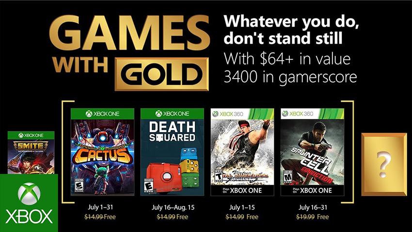Xbox Live Gold'un Temmuz 2018 Ücretsiz Oyunları Duyuruldu