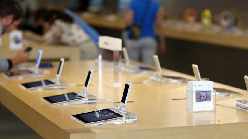 Apple Mağazası Saniyeler İçinde Soyuldu