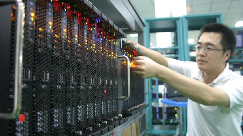 Çin Yeni Süper Bilgisayar
